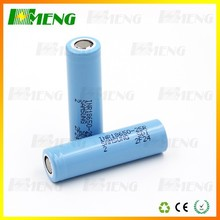 Mad Selling Samsung 18650 battery cell samsung 25r 3.7v 2500mah 30a discharge wholesale