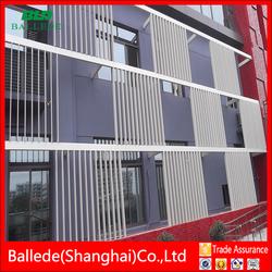 external architectural aluminum aerofoil louver frame