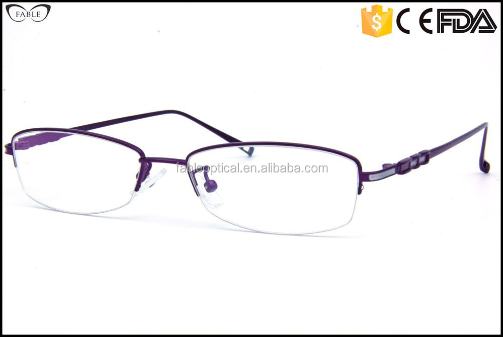 Designer Rimless Eyeglasses : New Designer Prescription Titanium Rimless Eyeglass Frames ...