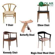 Trade Assurance wholesale replica wooden dining chair for restaurant