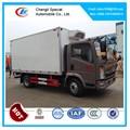 Howo mini refrigerado furgonetas, utilizado caja refrigerada venta