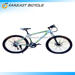 """26"""" aluminum alloy frame 21 speed mountain bike bicycle Professional Manufacturer"""