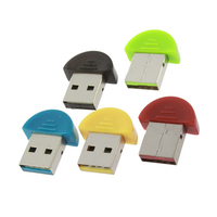 USB Bluetooth Adapter Mini Smart Bluetooth Wireless Adapter Dongle Bluetooth 2.0 USB Adapter for PDA Mobile Phone PC