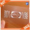High class transparent plastic business cards