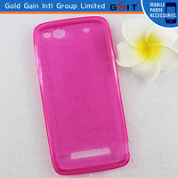 Elegant Concise Design TPU Case For Alcatel OT6032 Back Cover Multicolors Available