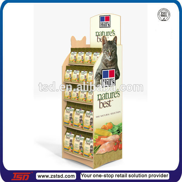 Retail Can Cat Food Pdq Display