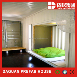 Modular low price construction site container office with flat package for sale