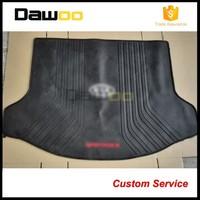 hot design rubber custom dog pet minivan cargo liner
