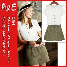 ae moda casual de vestir y pantalones blusas