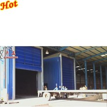 Grit Blasting Room/Booth/Chamber/Equipment with abrasive recycle and dust collector system