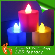 Factory supply party decoration led candle pictures
