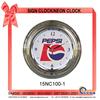 15NC100-1 Large LED Clock Wall Neon clock
