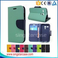 China Manufacturer wallet leather mobile phone case cover for alcatel one touch flash