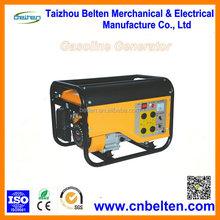 12V DC Portable 220V Petrol Generator 1500W