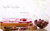 factory glass packaging jar ,crystal ball glass storage jar