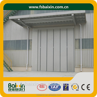 China Supplier Insulation Industrial Safety Electrical Folding Door