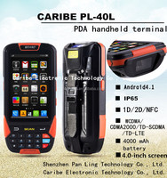 CARIBE PL-40L AU102 4 inch IPS Android 4.1 industrial android smartphone in stocks