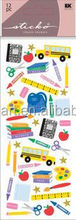 Hot Sale Coustom Time For School Sticko Stickers wall sticker