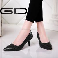 Woman's Pumps Plus Size Court Shoes Office Career Pump Pointed Toe Shoe Stiletto Single Shoes Women's Wedding shoe in Stock
