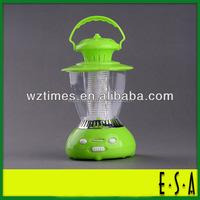 Light LED camping lamp; LED radio camping light; LED multi-functional portable lamp G02D005
