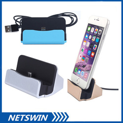 USB Charger charging Dock Stand Docking Station for iPhone Samsung