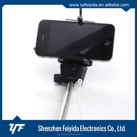 Removable assembly type 7segments monopod selfie stick for iphone