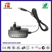 Low MPQ ac adaptor 12v 2a for DVR,CCTV camera,LED light