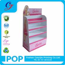 CYJ-TF508 Barbie Doll 4-tier Cardboard Wings Display Stand