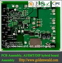 hair straightener pcb assembly DC motor controller pcb assembly