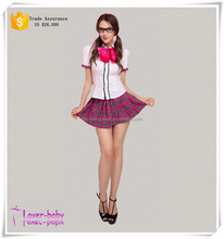 Adorable Nerd Sexy School Costume Wholesale For Student 2015