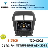 S100 Car Multimedia DVD for MITSUBISHI ASX 2011 year with A8 chipest, gps, bluetooth, sd, ipod, 3g, wifi