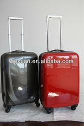 leightweight luggage /100% PC trolley luggage set/alibaba china luggage set