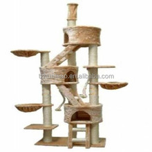 carb-certified large cat tree condo scratching post