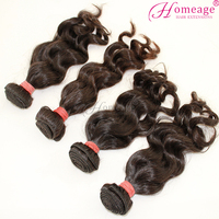 homeage wholesale brazilian human hair sew in weave wet and wavy weave sale on aline
