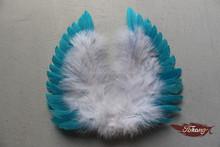 fancy mini feather angel wings