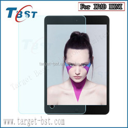 The factory price clear tempered glass screen protector for IPAD MINI