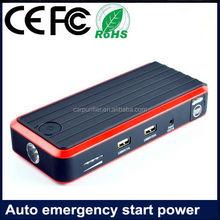 upgrade of T6 hot car jump starter electric power bank Custom logo 12Ah 400A