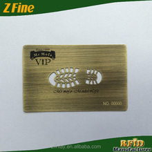 ZFine Cheap stainless steel brushed metal business cards