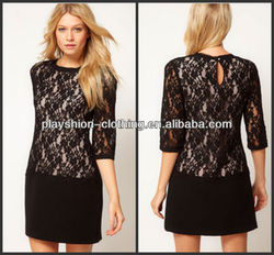 2013 Women Hot Sexy Lace Bodycon Mini Dress