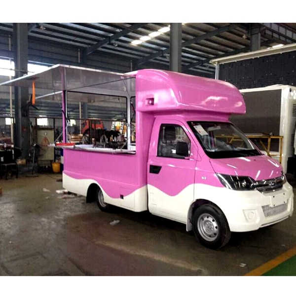 Custom Mobile Food Truck For Sale In China With Kitchen,Ice Cream ...