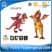 H184676 venta al por mayor niños juguetes animales robot juguetes de dinosaurios eléctrica con el sonido y la luz