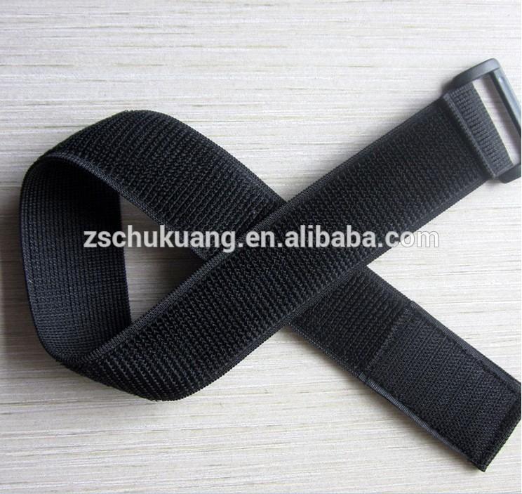 Elastic Hook and Loop Strap