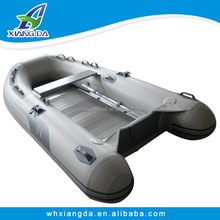 2015 China Factory Rigid Aluminum Floor Inflatable Rescue Boat