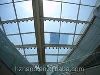 Self-adhesive heat resistant smart window film