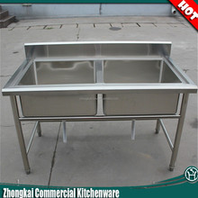 superb quality good price 304 double bowl stainless steel kitchen sink for sale