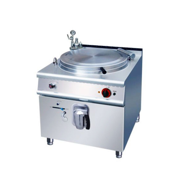 100l commercial electric cooking boilers stainless steel for Kitchen unit for boiler