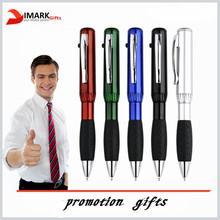 Free sample Promotional Custom plastic gift light ballpoint pen