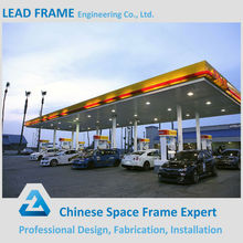 Security and Reliable Stainless Canopy for Gas Station