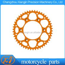 Custom Refitting Motorcycle CNC Aluminum 7075 T6 Chain Sprocket