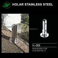 201 304 stainless steel glass handrail banister support